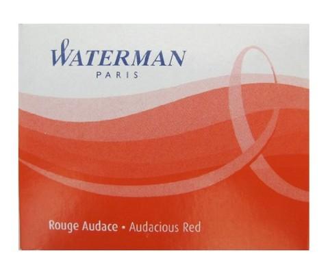 Waterman Kartus 8'li Kirmizi S0110880