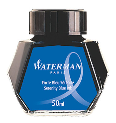 Waterman Sise Mürekkep Mavi S0110720
