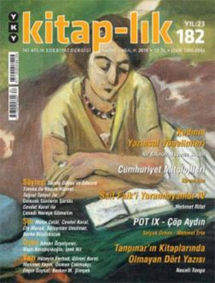 Kitap-lık Sayı 182 - İki Aylık Edebiyat Dergisi