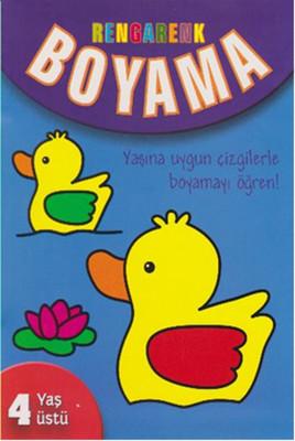 Rengarenk Boyama - 4 Yaş Üstü