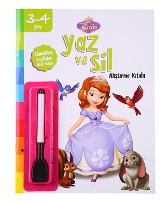 Disney 3-4 Yaş Yaz ve Sil Prenses Sofia