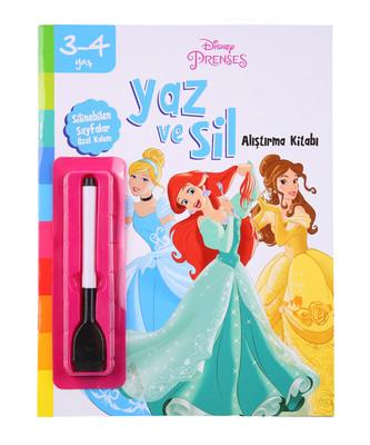 Disney 3-4 Yaş Yaz ve Sil Prenses