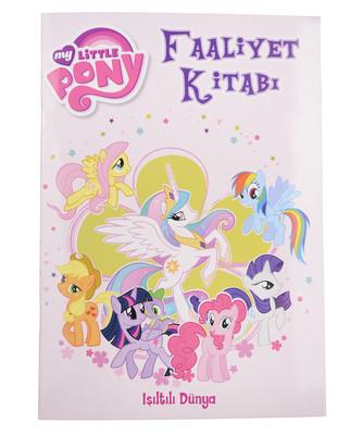 My Little Pony Faaliyet Kitabı Işıltılı Dünya