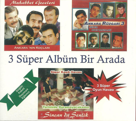 3 Süper Albüm Bir Arada