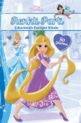 Disney Prenses Renkli Parti Çıkartmalı Faaliyet Kitabı