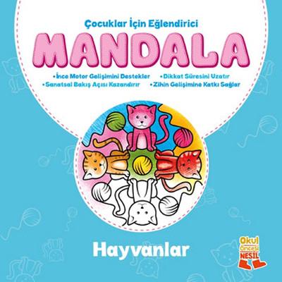 Çocuklar İçin Eğlendirici Mandala-H