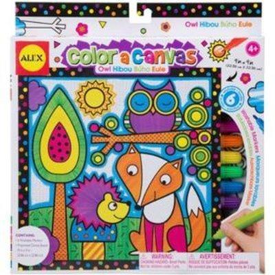 Alex Color A Canvas - Owl 361W