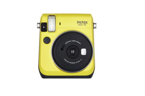 Fujifilm Instax Mini 70 Yellow Kamera FOTSI00030
