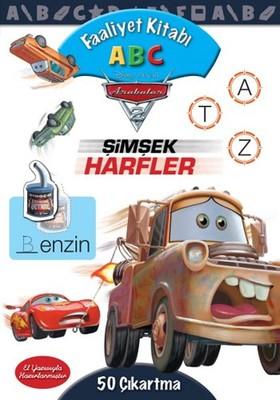 Disney Arabalar Faaliyet Kitabı ABC - Şimşek Harfler