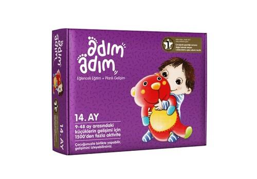 Adım Adım Bebek Eğitim Seti 14.Ay (ADAD-3000193)