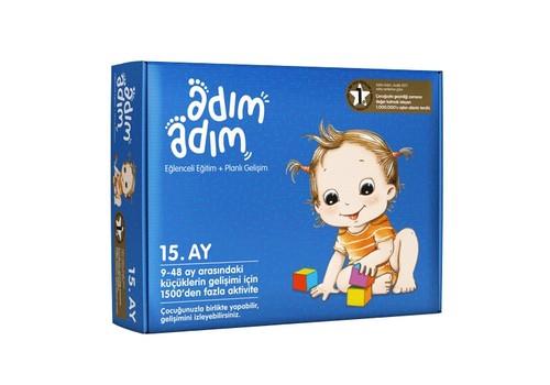 Adım Adım Bebek Eğitim Seti 15.Ay (ADAD-3000194)
