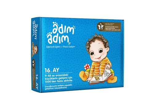 Adım Adım Bebek Eğitim Seti 16.Ay (ADAD-3000195)