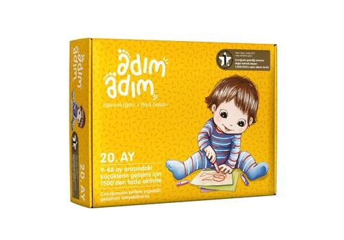 Adım Adım Bebek Eğitim Seti 20.Ay (ADAD-3000199)