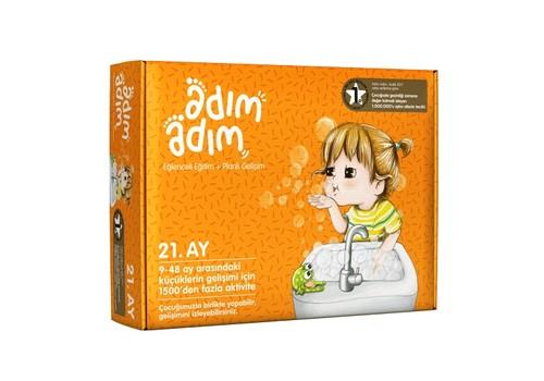 Adım Adım Bebek Eğitim Seti 21.Ay (ADAD-3000200)