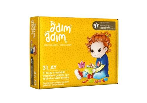 Adım Adım Bebek Eğitim Seti 31.Ay (ADAD-3000210)