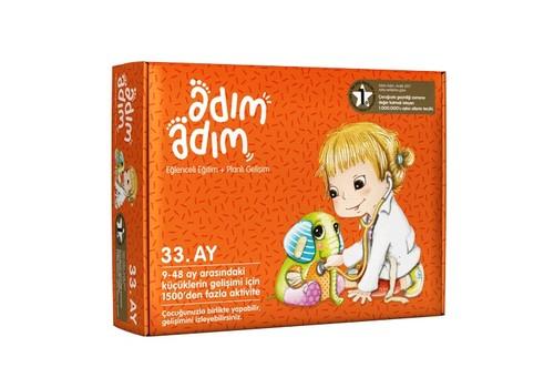 Adım Adım Bebek Eğitim Seti 33.Ay (ADAD-3000212)