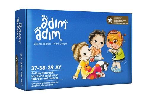 Adım Adım Bebek Eğitim Seti 37-38-39.Ay (ADAD-3000217)