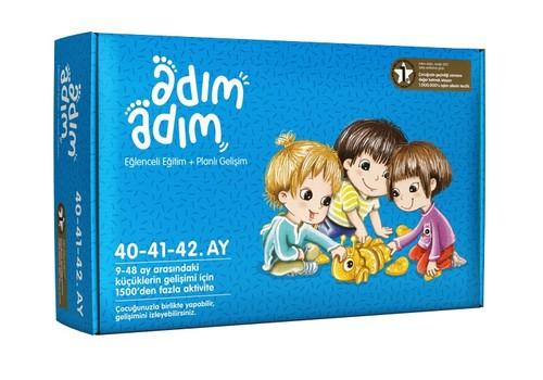 Adım Adım Bebek Eğitim Seti 40-41-42.Ay (ADAD-3000218)