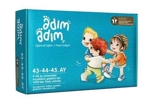 Adım Adım Bebek Eğitim Seti 43-44-45.Ay (ADAD-3000219)