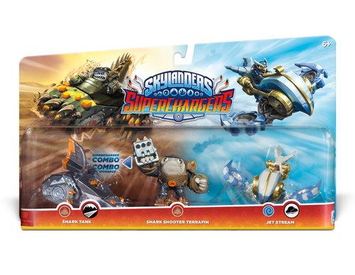 Skylanders Superchargers 3lu Shark Tank + Shark Sho