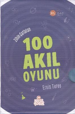 Zihin Çatlatan 100 Akıl Oyunu 5 Kitap Takım