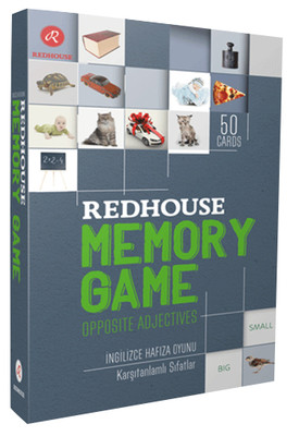 Redhouse Memory Game - Opposite Adjectives