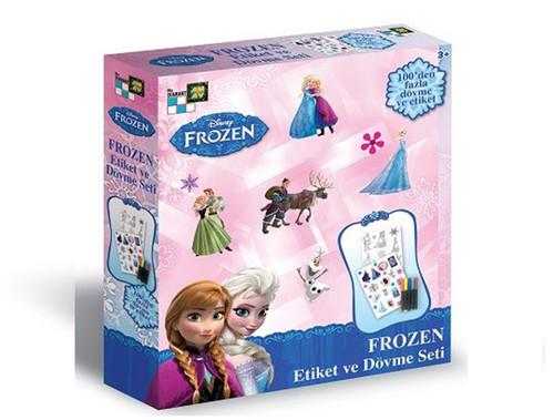 Frozen Etiket Ve Dövme Seti  Yeni DA5051