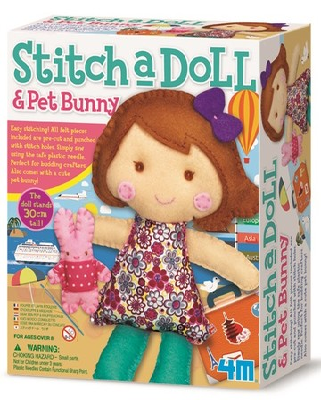4M Stitch A Doll Pet Bunny