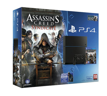 Sony PS4 1TB + Assassin's Creed: Syndicate