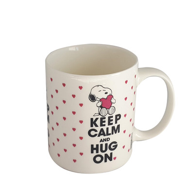 Peanuts Kupa Keep Calm & Hug On 23