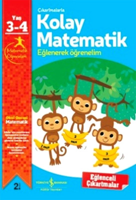 Çıkartmalarla Kolay Matematik Eğlenerek Öğrenelim 3-4 Yaş