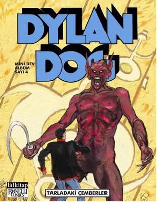 Dylan Dog Mini Dev Albüm 4 - Tarladaki Çemberler