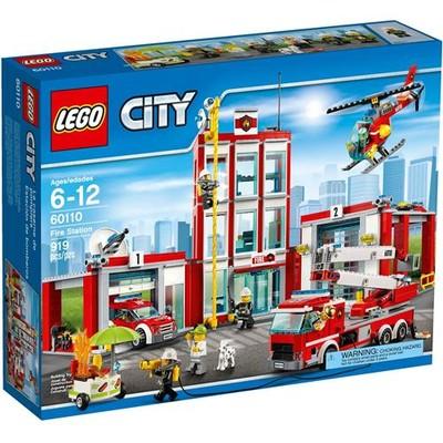 Lego City Itfaiye Fire Station 60110