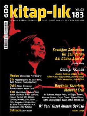 Kitap-lık Sayı 183 - İki Aylık Edebiyat Dergisi