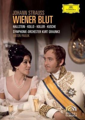 Strauss, J.: Wiener Blut [Ingeborg Hallstein Symphonie-Orchester Kurt Graunke]