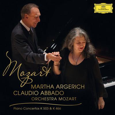 Mozart: Piano Concertos K 503 & K 466 [Limited Edition] [Orchestra Mozart, Claudio Abbado]