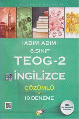FDD 8. Sınıf Adım Adım TEOG-2 İngilizce Çözümlü 10 Deneme