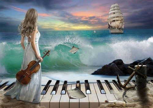 Art Puzzle Deniz Senfonisi 1000 Parça 4468