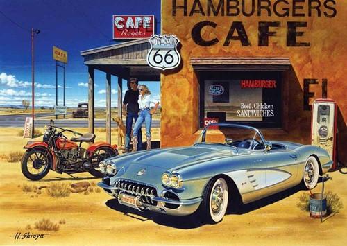 Art Puzzle Arizona Cafe 1500 Parça 4642