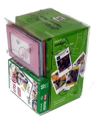 Fuji Instax Share Box  (Instax Share+ 10'lu Film + Üçlü Çerçeve)