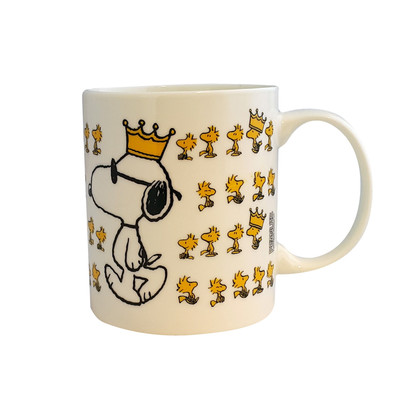 Peanuts Kupa Snoopy & Woodstock Sarı Taç 05