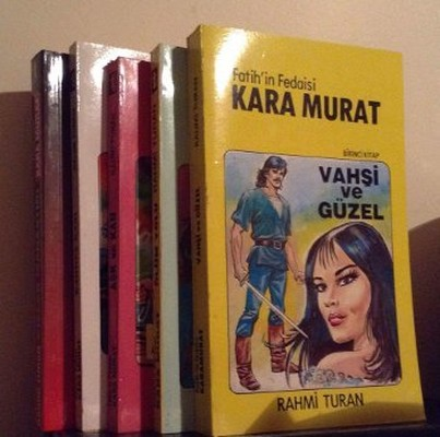 Fatih'in Fedaisi Kara Murat - 5 Kitap Takım