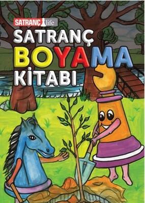 Satranç Boyama Kitabı