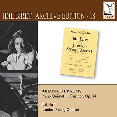 Brahms: Piano Quintet (Archive Edition .18)