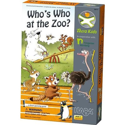 Haba Who Is Who At The Zoo Hb300177