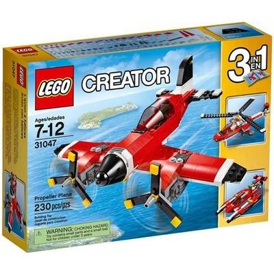 Lego Creator Propeller Plane 31047