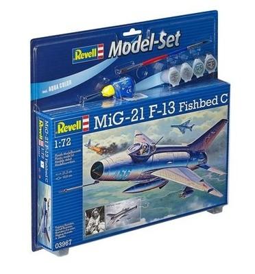 Revell Model Set Star Wars Model Set Mig-21 F-13 Fishbed