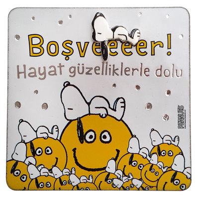 Peanuts Magnet Boşveeer 09
