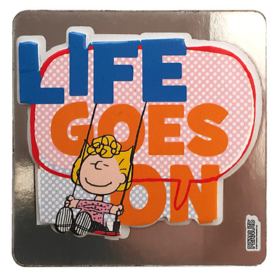 Peanuts Magnet Life Goes On 20