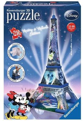 Ravensburger 3D Puzzle Mickey&Minnie Eyfel 125708